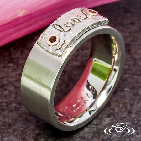LOVE WEDDING BAND