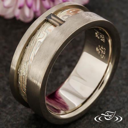MOKUME WEDDING BAND