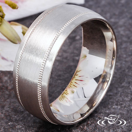 WHITE GOLD CLASSIC BAND