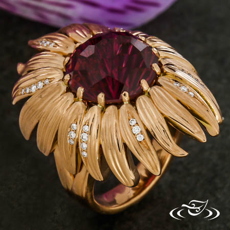 ECHINACEA FLOWER RING