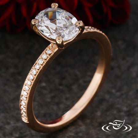 DELICATE OVAL SOLITAIRE