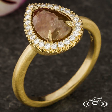 RUSTIC DIAMOND HALO