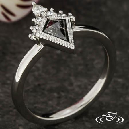 CONTEMPORARY KITE DIAMOND RING