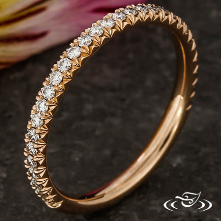 FRENCH PAVE DIAMOND BAND